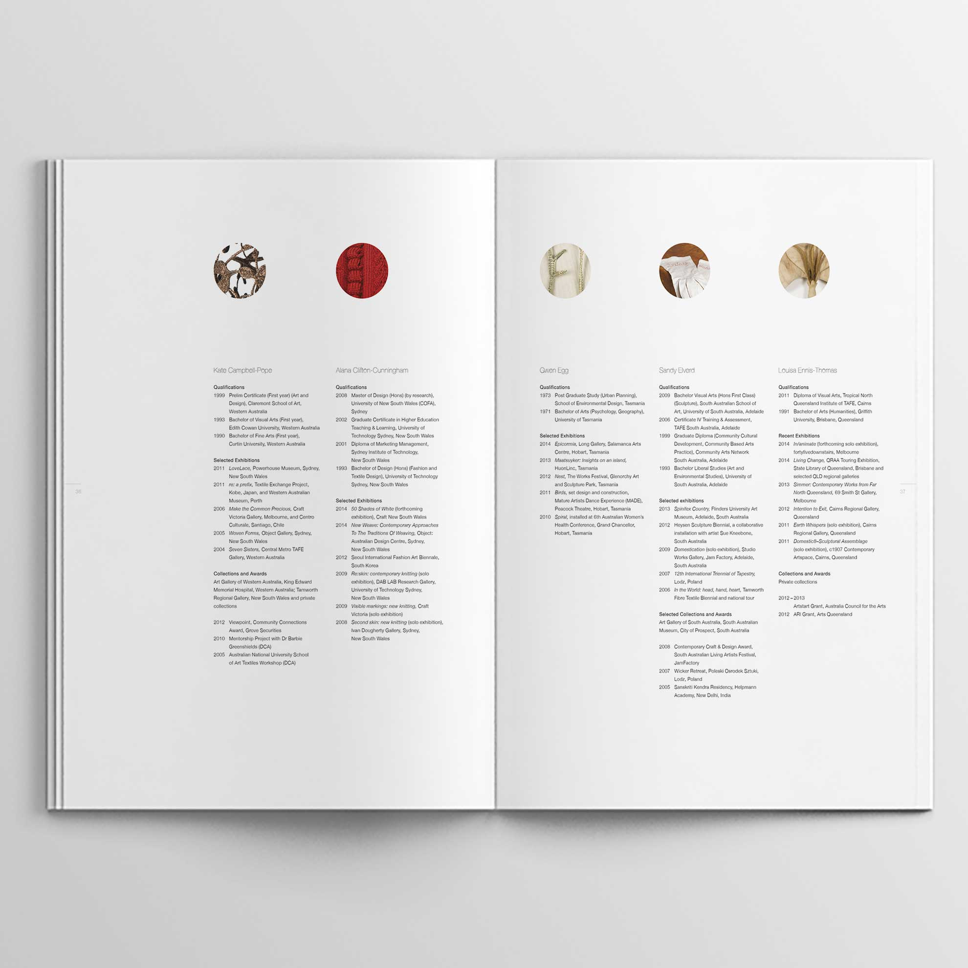 catalogue pages