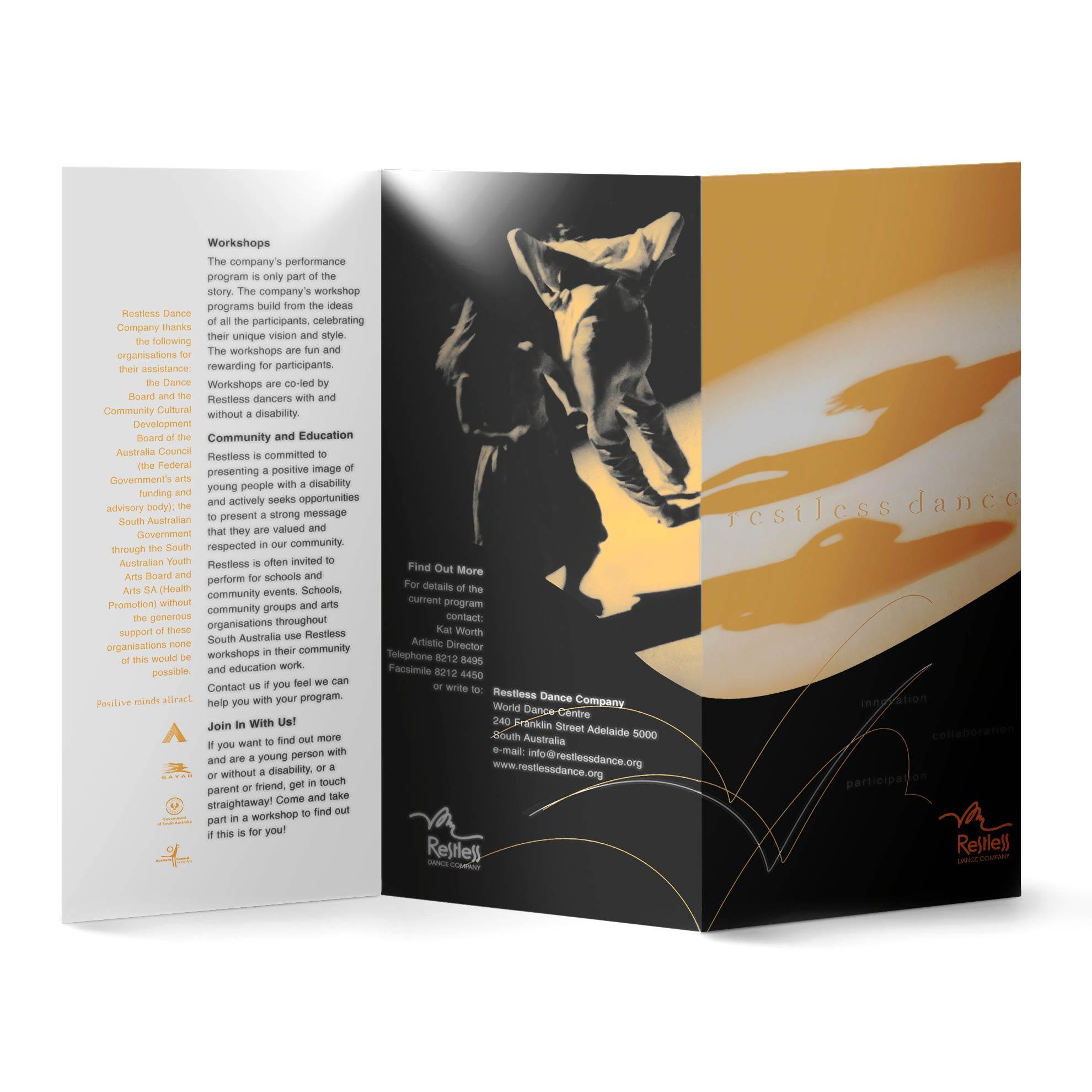 Restless brochure 1
