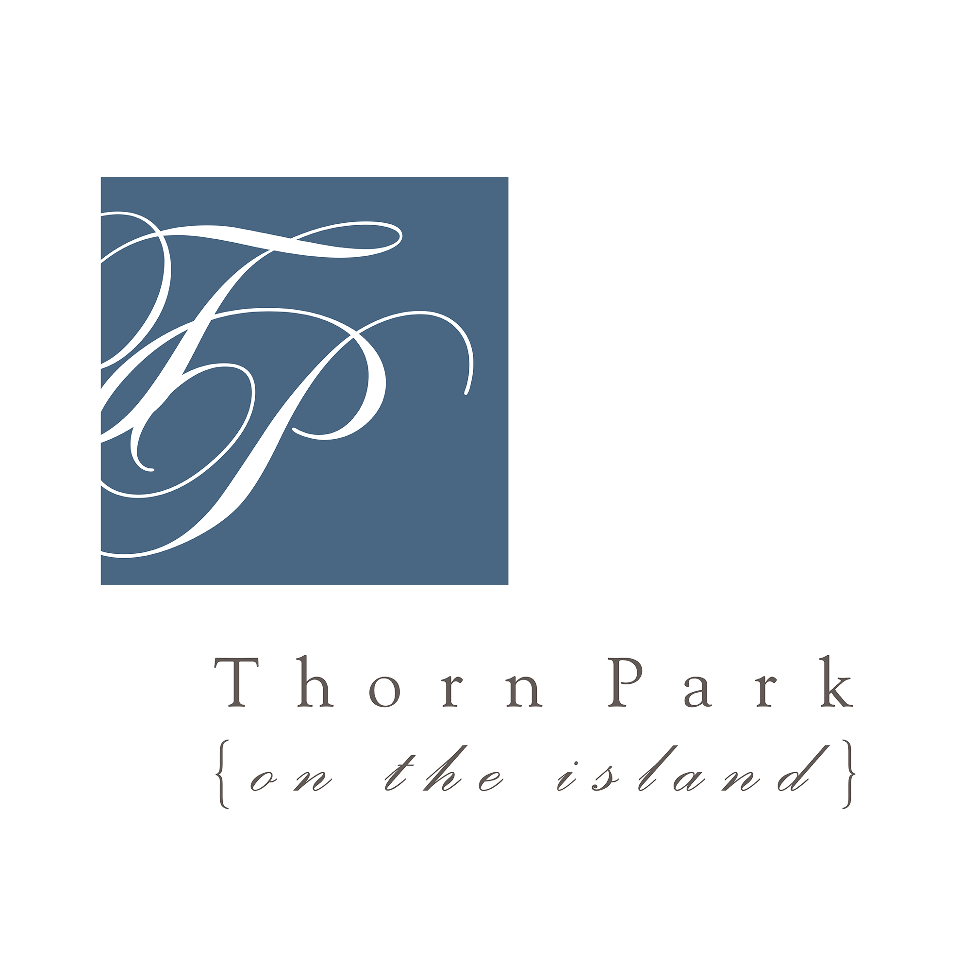 Thorn Park -on the island logo