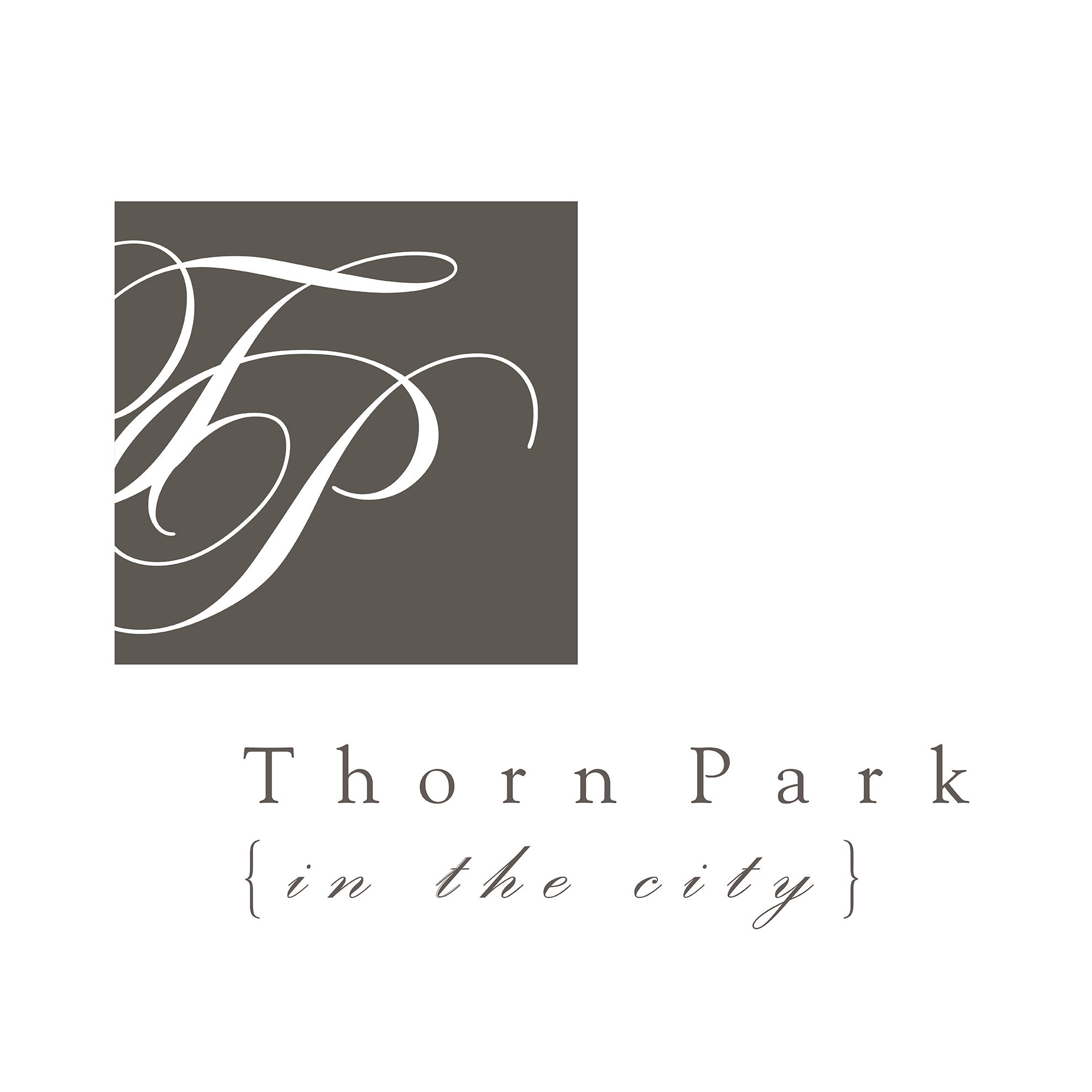 Thorn Park - in the city logo